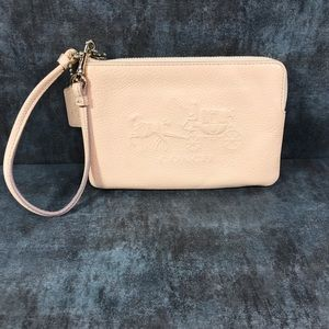 Coach Bags - Coach Anniversary Horse Carriage L-Zip Wristlet